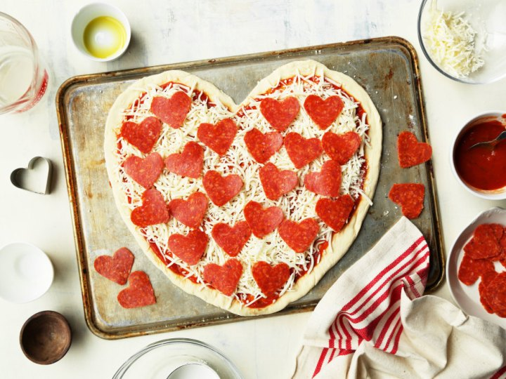 Step 8 - Heart Shaped Pizza